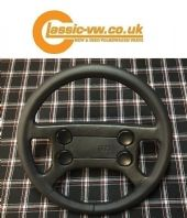 Leather Steering Wheel Retrim Service Mk1 Golf, Mk2 Scirocco
